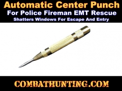 Window Center Punch Police Fire EMT Rescue