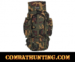 Invisible Camouflage Water-Resistant Heavy-Duty Mountaineer's Backpack