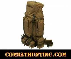 FDE Water-Resistant Heavy-Duty Mountaineer's Backpack