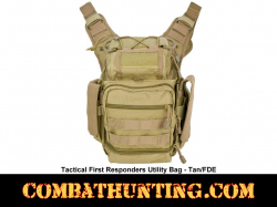 Tan First Responders Utility Bag