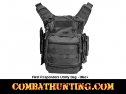 First Responder Tactical Utility Bag Black