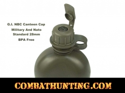 G.I. NBC Canteen Cap For Military Gas Mask