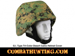 G.I. Type Woodland Digital Camo Helmet Cover