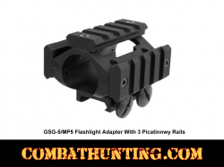 GSG-5 Flashlight Adapter Mount For Railed Hand guard