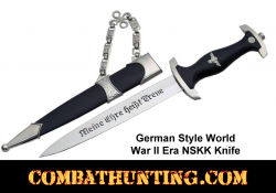 German Style World War II Era NSKK Knife