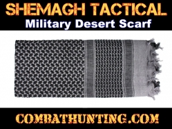 Grey Shemagh Tactical Military Desert Scarf