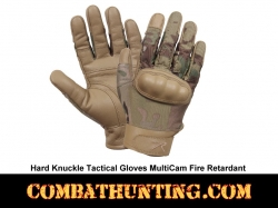MultiCam Hard Knuckle Tactical Gloves