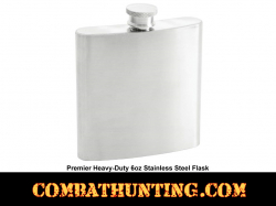 Liquor Flask Stainless Steel Heavy-Duty 6oz