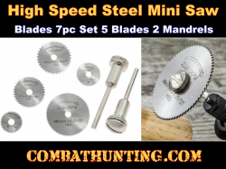 High Speed Steel Saw Blade Set With Mandrels