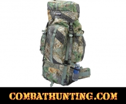 Invisible Tree Camo Water-Resistant Heavy-Duty Mountaineer's Backpack