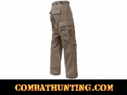 Khaki Military BDU Fatigue Pants