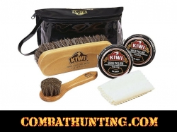 KIW Delux Shoe Shine Kit M-26
