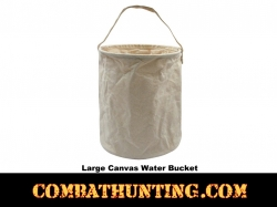 Large  Canvas Emergency Water Bucket