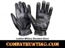 Leather Military Shooters Gloves