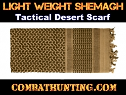 Lightweight Shemagh Tactical Desert Scarf Coyote Brown