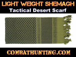 Lightweight shemagh Tactical Desert Scarf Olive Drab