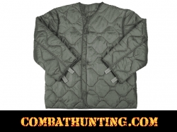 M-65 Field Jacket Liner Foliage Green