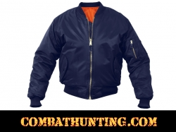 MA-1 Flight Jacket Color Navy Blue