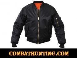 MA-1 Flight Jacket Color Black
