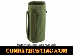 MOLLE Hydration Water Bottle Pouch Military Green
