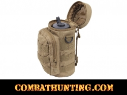 MOLLE Compatible Water Bottle Pouch Coyote Brown