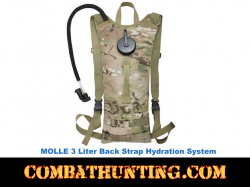 3 Liter Back Hydration Systems Molle Compatable