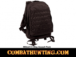 3 Day Tactical Assault Pack Black