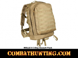MOLLE II 3-Day Assault Pack Coyote Brown