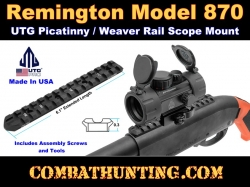 UTG PRO Remington Model 870 Picatinny Rail Scope Mount