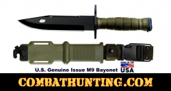 G.I. M-9 Bayonet Genuine Issue