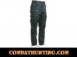 Midnite Digital Camo BDU Pants