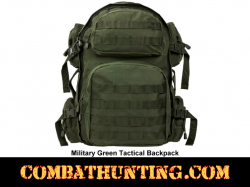 Military Green Tactical Backpack MOLLE
