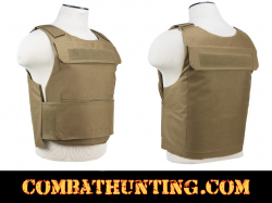 Discreet Plate Carrier Vest 2XL+ Tan/FDE For Body Armor