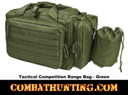 Tactical Competition Range Bag Green