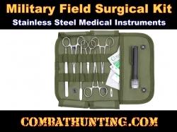 Elite Military First Aid Surgical Kit 16 Piece