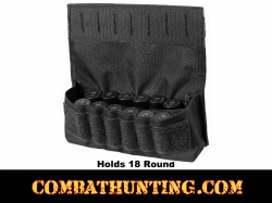 Molle Shotshell Holder Black 18 Rounds