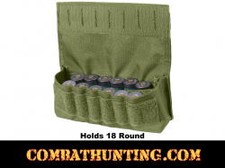 Molle Shotshell Holder Olive Drab 18 Rounds