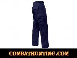 Navy Blue Military BDU Fatigue Pants