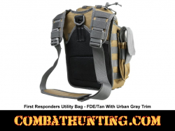 Tan With Urban Gray Trim First Responders Utility Bag