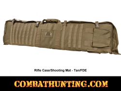Rifle Case Shooters Mat Tan/FDE