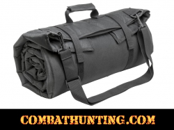 Roll Up Padded Shooting Mat Urban Gray