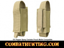 OC Pepper Spray Canister Pouch Molle Tan/FDE