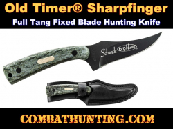 Old Timer® Sharpfinger Full Tang Fixed Blade Knife