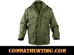 Rothco Soft Shell Tactical M-65 Jacket Olive Drab