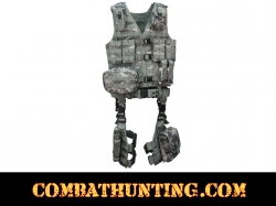 UTG Ultimate Tactical Gear Army Digital Tactical Molle Tactical Vest 10 Piece Kit