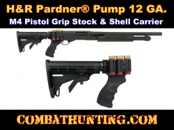 H&R Pardner Pump Six Position Pistol Grip Stock & Shell Holder