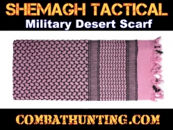 Pink Shemagh Tactical Military Desert Scarf