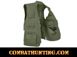 Plainclothes Concealed Carry Vest Olive Drab