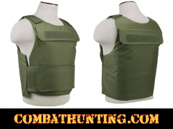 Discreet Plate Carrier Vest 2XL+ Green For Body Armor