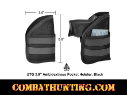 Pocket Holster Black For Subcompact 9MM/.40 Autos
